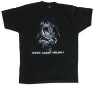S-ONE Helmet Co. - Gives Great Helmet - T-Shirt - Black