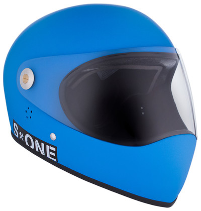 Cyan Matte W/ Clear Visor   S1 Lifer Full Face Helmet Specs: • Specially formulated EPS Fusion Foam • Certified Multi-Impact (ASTM) • Certified High Impact (CPSC) • 5x More Protective Than Regular Skate Helmets • Deep Fit Design