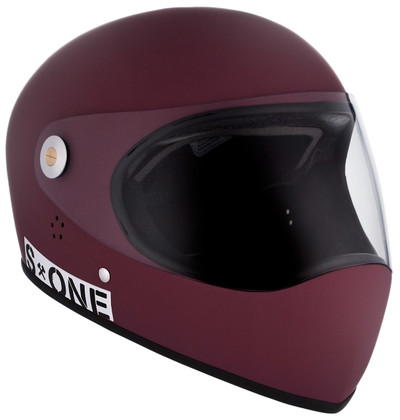 Maroon Matte W/ Clear Visor | S1 Lifer Full Face Helmet Specs: • Specially formulated EPS Fusion Foam • Certified Multi-Impact (ASTM) • Certified High Impact (CPSC) • 5x More Protective Than Regular Skate Helmets • Deep Fit Design