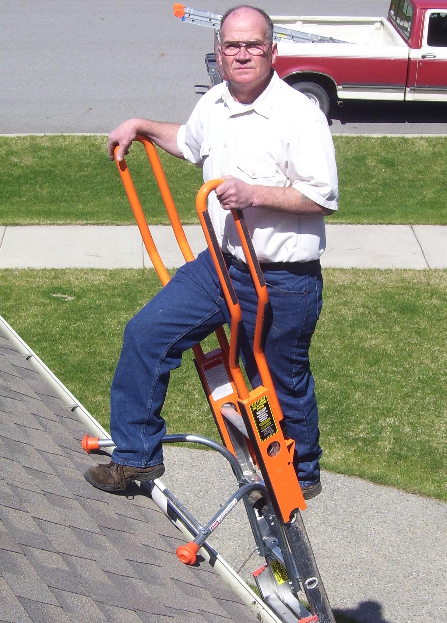 Ladder Roof Stabilizer Amp Roof Zone 48586 Aluminum Corner