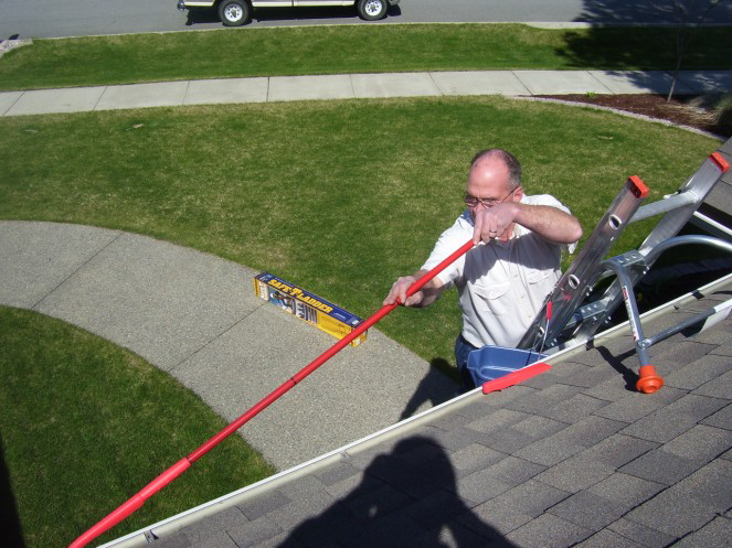 Gutter Grabber Extention Pole Ladder Max Llc