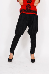 Ladies Britches Style Leggings - Black