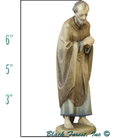 Anri Kuolt Joseph Height Measurement for Nativity