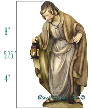 Anri Bernardi Nativity Height Measurement