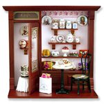 REUTTER PORCELAIN SHADOW BOXES