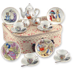 REUTTER PORCELAIN TEA SETS
