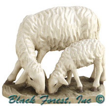 79770-16 Anri 4 Inch Bernardi Sheep and Lamb