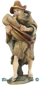 79752-19 Anri 5.75 Inch Bernardi Shepherd with Bag Pipes