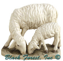 79750-16 Anri 8 Inch Bernardi Sheep with Lamb