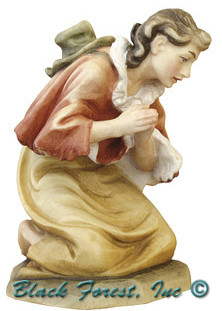 79750-12 Anri 8 Inch Bernardi Shepherd Praying