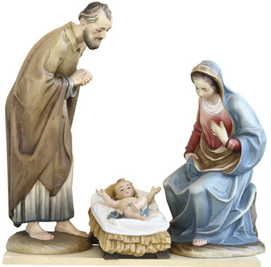 79710-1-3 Anri 3 Kuolt Painted Holy Family