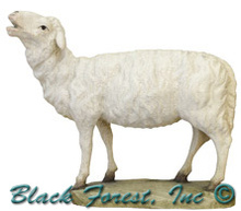 79710-28 Anri 3 Inch Kuolt Painted Standing Sheep