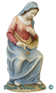79710-1 Anri 3 Inch Kuolt  Painted Mary