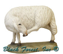 79710-14 Anri 3 Inch Kuolt Painted Sheep Standing