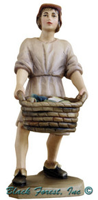 79700-107 Anri 6 Inch Kuolt Shepherd with Fish