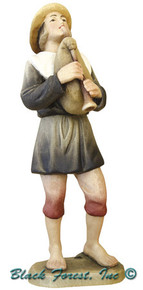 79700-106 Anri 6 Inch Kuolt Shepherd with Bag Pipes