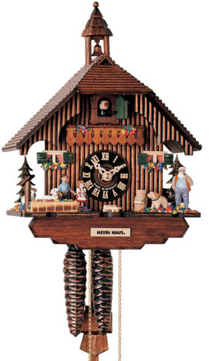 1288 Hones Chalet 1 Day Cuckoo Clock