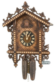 8228-5 Hones 8 Day Station House Cuckoo Clock