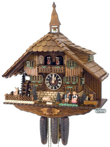 8638T Hones 8 Day Kissing Cuckoo Clock