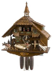 86230t hones 8 day saw mill cuckoo clock