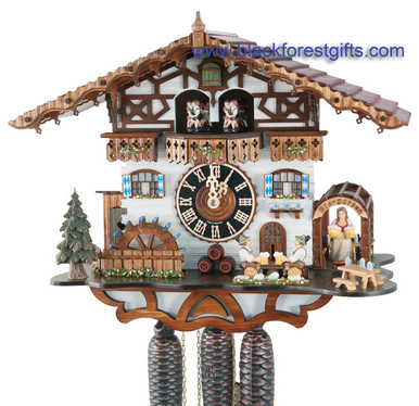 8664TZenzi Hones Beer Garden 8 Day Cuckoo Clock