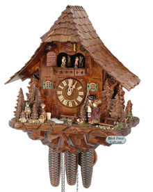 5888801P 8 Day Hansel and Gretel Cuckoo Clock