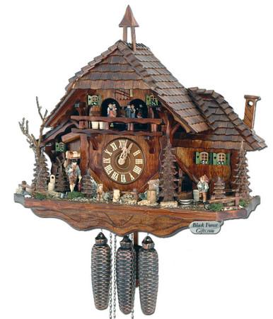 5880001P 8 Day Premiun Chalet Cuckoo Clock