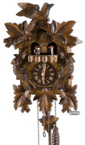 632QMT Quartz Music and Dancers Cuckoo Clock