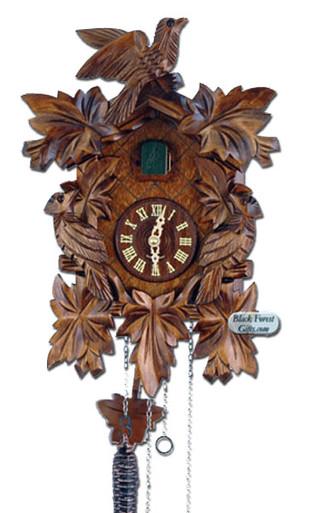 632QM-MG Quartz Carved Musical Cuckoo Clock
