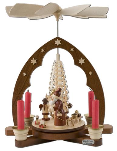 10340-M Muller Santa Christmas Pyramid
