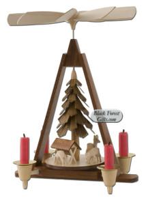 10308 Muller Forest Scene Christmas Pyramid