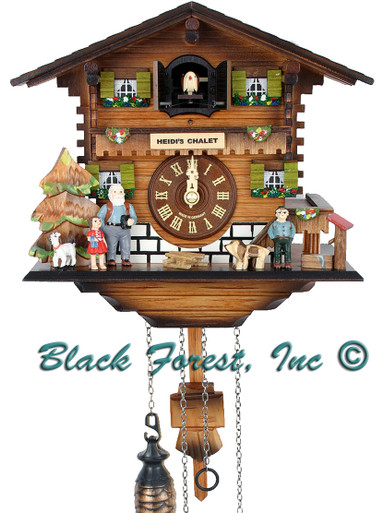 BF3-224BS Quartz Chalet Cuckoo Clock