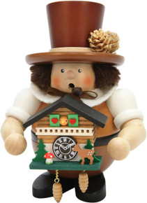 1-468 Ulbricht Natural Black Forest with Cuckoo Clock Smoker