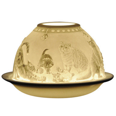 21676 Bernardaud Cats Lithophane Votive