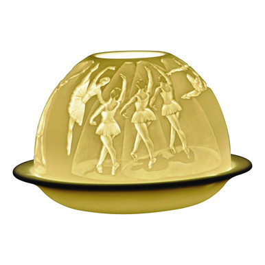 21208 Bernardaud Dance Lithophane Votive