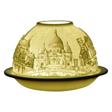 21204 Bernardaud Churches of Paris Lithophane Votive