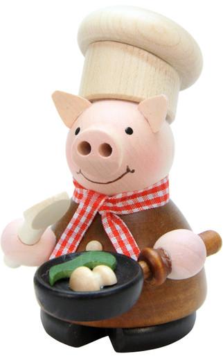 1-659 Lucky Pig Chef Christian Ulbricht Smoker