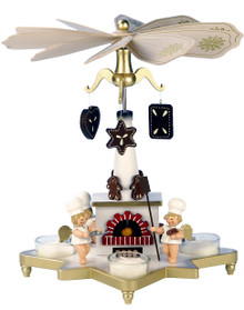 33-302 Angels Ulbricht Tea Light German Pyramid
