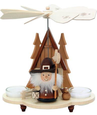 33-208 Night Watchman Natural Ulbricht Tea Light German Pyramid