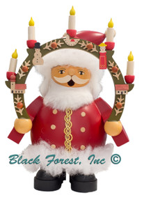 16031 Santa with Candle Arch Muller Smoker