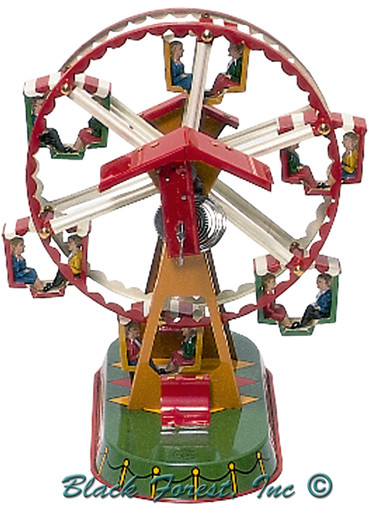 007RM Ferris Wheel Tin Toy made in Germany