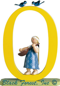 5330-0-1 No 0 Girl with Lute from Wendt and Kuhn