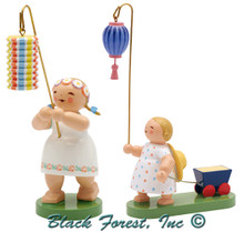 6228-N-2014 Children with Lantern Set from Wendt and Kuhn