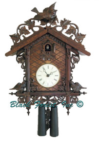 8224-5PA Hones 8 Day Station House Cuckoo Clock