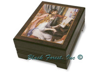 89195 RENOIR GIRLS AT PIANO Jewelry Music Box