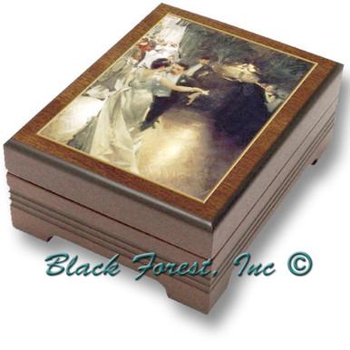 89182 Waltzing Couple Music Box