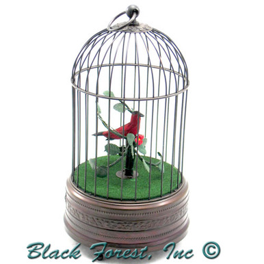 106-1 Bird Antique Singing Bird Cage from Germany