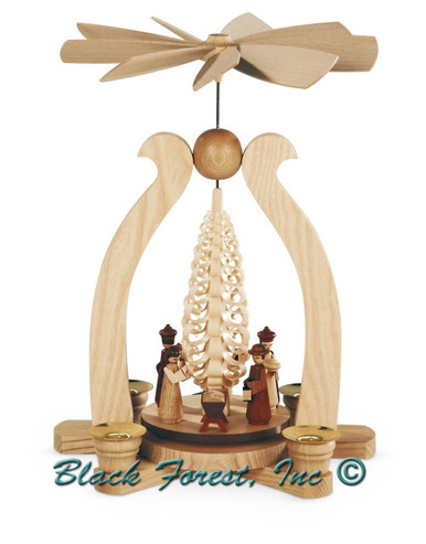 10220 Mueller Nativity Scene Christmas Pyramid