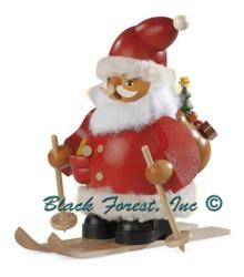 16033 Santa Claus on skis Muller Smoker