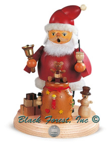 16188 Santa with Bag of Toys Mueller Smoker